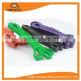 Rubber Resistance Strap, Stretch Band, Excersise Workout Resistance Band With Metal Buckles Grip