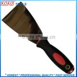 steel double color plastic handle scraper knives                                                                         Quality Choice