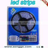 led strip light DIY kit with blister package,led controller+5050 flex strip+power supply
