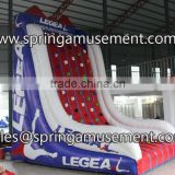 China cheap commercial grade inflatable rock climbing wall inflatable sports games challenge for sale SP-SP037