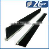 industrial strip brush for machine