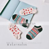 low price popular on sale lovely design girls wholesale cotton boat socks