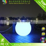 outdoor garden led glowing ball lamp/led illuminated sphere/led floating ball