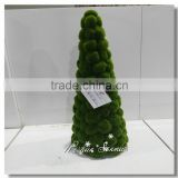 Brand new artificial topiary moss tree Christmas tree for shopping center decor