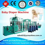 YC-YNK500-FC Frequency High-speed Baby Nappy Pad Machine