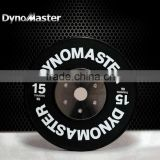 Standard fitness plate dynomaster fitness plate gym rubber weight plates coloured olympic weights