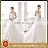 A33 Zuhair Murad Sweetheart Bridal Wedding Dress A Line Lace Applique White Lace Dress One Shoulder