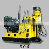 XY-3 portable water well drilling rig mounted on truck