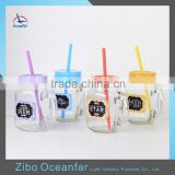 Decal Design Bulk Juice Glass Mason Jar Wholesale Market Custom Mason Jars For Sale