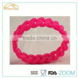 haining cheapest silicone chain bracelets