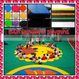 CE certificated newest design children outdoor playground with tunnel slide in kindergarden backyard FL-J-0323-3