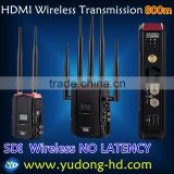 5GHz 1080p camera HDMI SDI wireless HD video transmitter and receiver for live broadcast