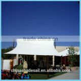 WATERPROOF SAIL SHADE, POLYESTER FABRIC WITH PU COATED SUN SHADE SAIL FOR PLAYING GROUND