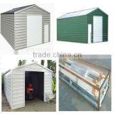 Prefabicated Steel structure car garage tools shed/chicken shed/workshop/building/building project
