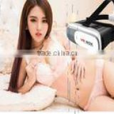 hot selling vr box Headset 3D Video Movie Game Glasses Remote Bluetooth Controller watching AV adult sex video and playing game