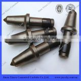 tungsten carbide road milling round shank bits/surface mining round shank bit for mining