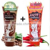Weight Loss Products Hot Chilli &Coffe Slimming Creams Leg Body Waist Effective Anti Cellulite Fat Burning Gel Slim Cream 85ml