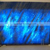 Translucent blue onyx slabs azul onix stone cut to size blue onyx for wall ceiling decor