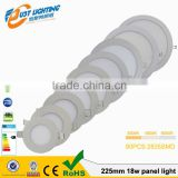 3W~24W High power round led panel light Best selling factory price Aluminum led panel light
