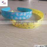 hair band transfer film suppliers of china fast delivery rabbit partten wholesale heat transfer vinyl for hair band printing