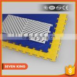 Qingdao 7king interlocking plastic pvc vinyl flooring tile hover board tile for free samples