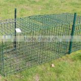 Pest Control Bird Cage Trap Larsen Trap Magpie Trap Two Entry 92*32*42cm