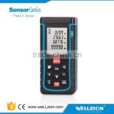 SW-E100, digital laser distance meter 100m for quick measurement of distance, area and volume
