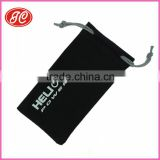 Customized size and color microfiber eyeglasses pouches Customized size and color microfiber eyeglasses pouch