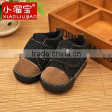 ALIBABA Exclusive Spring Autumn Classy Black Corduroy Casual Baby Boy Shoes Infant Toddler Baby Boy Moccasins Baby Sneakers