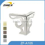 ZHIFA ZF-A105 factory price replacement legs for couches, replacement sofa legs uk, brass furniture feet