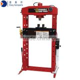 50 ton Hydraulic shop press, 68-920mm with foot pedal double speed pump system