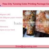 Souvenir Fancy Cunstom Printed Rolling Gift Wrapping Paper Set
