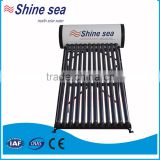 Wholesale freestanding installation pressurized solar water heater
