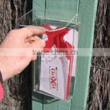 Outdoor Business Card Holder