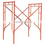 Durable quality pre galvanized walk through scaffolding door frame for outdoor decoration