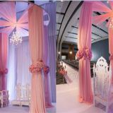 Telescopic Round Aluminum Pipe and Drape for Wedding&Events