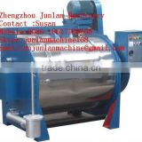 industrial washing machine for washed carded sheep wool