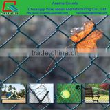 Sports ground chain link fence/Hot Dipped Galvanized Farm Fencing Chain Link Fence/cheap garden
