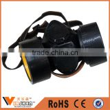 China factory disposable Full Head Mask Anti dust Military Quality Chemical double respirator mask