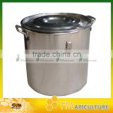 full enclosed hotsale stainless steel honey barrel ,honey tank, hotsale bee keeping tools.