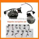 magneto statorand ignition coil and rotor for engine use