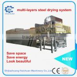 metal Drying Line for Pulp Moulding Egg Tray Machine Paper Product Making Machine