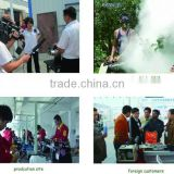 High efficiency, portable insecticide thermal fogger