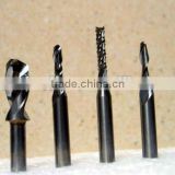 tungsten carbide PCB drill end mill cutters for milling machine