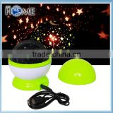 Night Light Moon Star Projector 360 Degree Rotation with USB Cable Room Novelty Night Light Projector Lamp