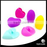 Cleaning Silicone Glove Brush Egg Makeup Brush Washing Scrubber Board Cosmetic Clean Tools