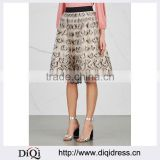 Wholesale Women Apparel Butterfly Embroidered Black Elastic Waist Tulle Skirt(DQE0366SK)