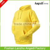 Customized Men's winter casual hoodies with core string Best Selling Ultralight Plain hoody