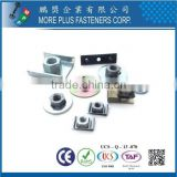 Taiwan Stainless Steel 18-8 Chrome Plated Steel Copper Brass Weld Studs U Type Groove Fasteners Welding Fasteners