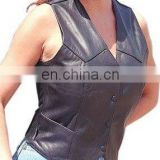 Leather Vests Art No: 1107